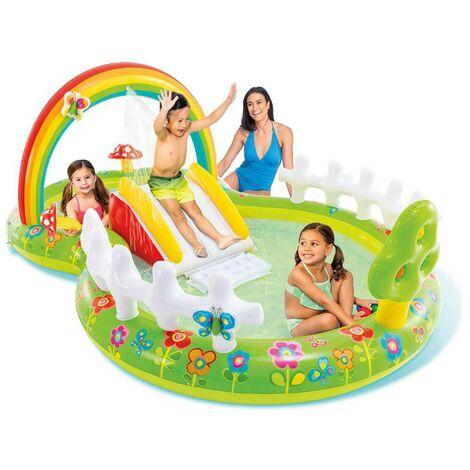 Aire de jeux gonflable Mon jardin - Vert