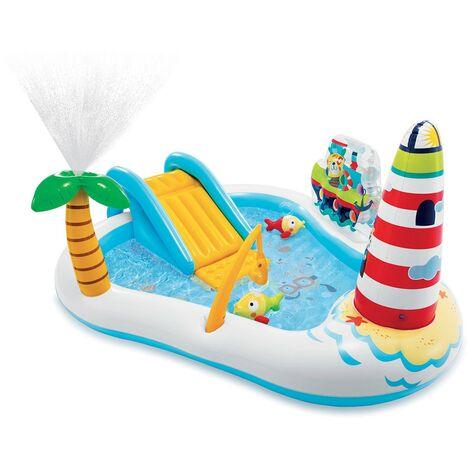 Aire de jeux gonflable Sea Paradise - Multicolore