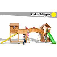 Aire de jeux Maxi Plaza jaune - Fungoo