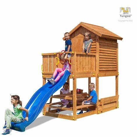 Aire de jeux My House Free time Beach jaune - Fungoo