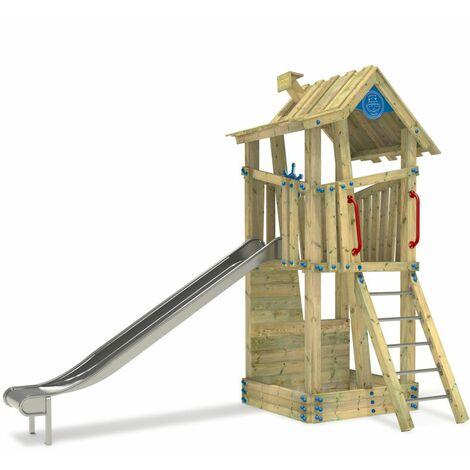 Aire de jeux WICKEY GIANT Treehouse tour de jeux penchée pour école ou camping
