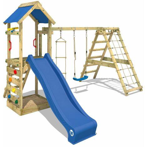 aire de jeux wickey starflyer portique de jeux en bois. Black Bedroom Furniture Sets. Home Design Ideas