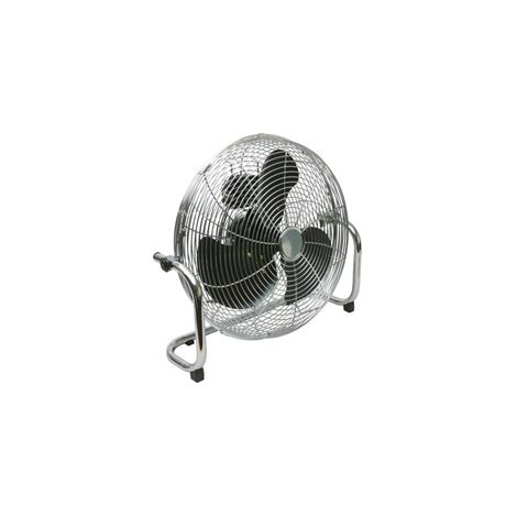 Airmaster HVF18 High Velocity 3 Speed Heavy Duty Tilt Pedestal Fan 160W  240v with Chrome Guard & Black Blades