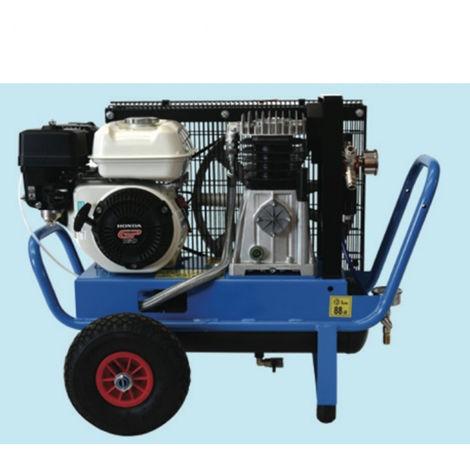 Airpower motocompressore per scuotitori olive 10lt motore 5,5HP Honda One Plus