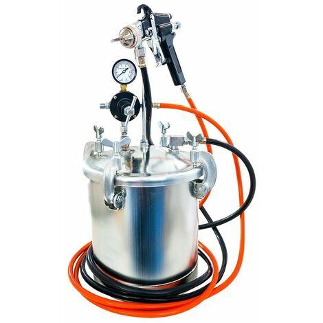 """Airpress 45202 Pulverizador de pintura neumático - 8500ml - 5,5 bar - 1/4"""""""