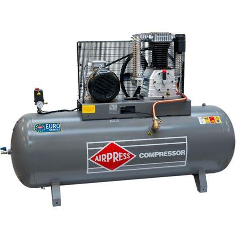 Airpress® Druckluft- Kompressor HK 1500-500 (7,5 kW, max. 11 bar, 500 Liter Kessel) Stromanschluss 400 V