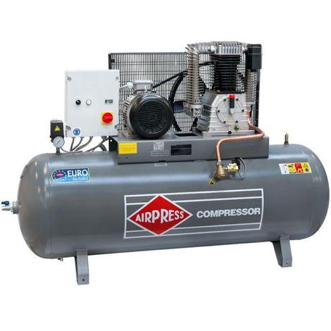 Airpress® Druckluft- Kompressor HK 1500-500 (7,5 kW, max. 14 bar, 500 Liter Kessel) Stromanschluss 400 V