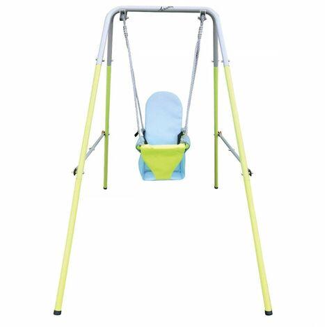 Airwave Folding Toddler Swing - Green