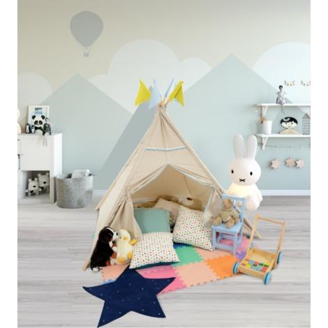 Airwave Homelands Wigwam Kids Teepee Tent - Natural