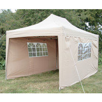 Airwave Pop Up Gazebo Fully Waterproof 4.5x3m - CHOOSE COLOUR