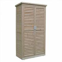 Airwave Wooden Garden Storage Shed - Tall