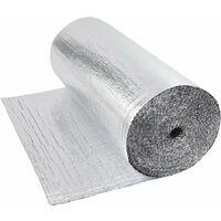 Aislamiento térmico y acústico doble - Foil Aluminium Bubble 48m²