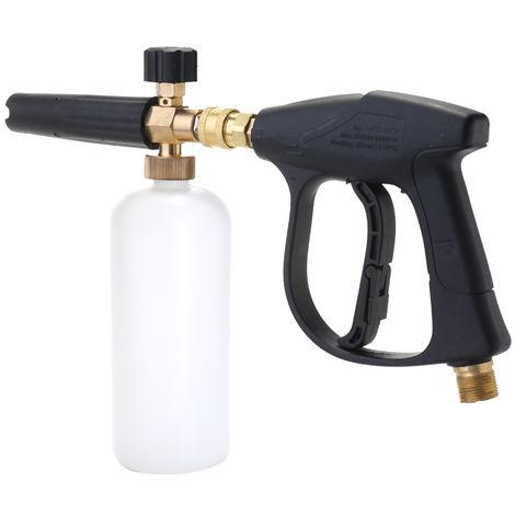 Ajustable Car Wash Regadera 1L jabon de espuma aerosol arandela de la presion del cilindro de la botella Herramientas de limpieza profesional para Automoviles