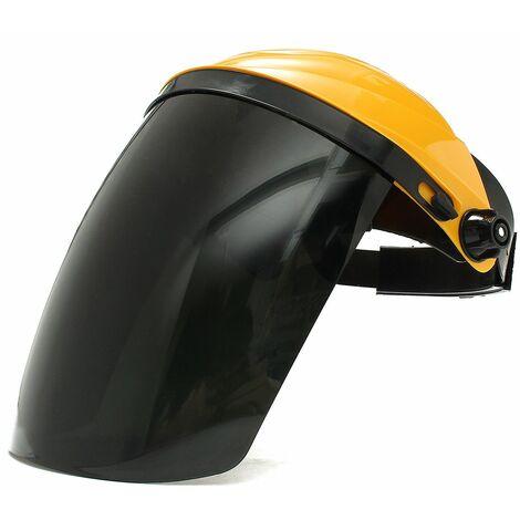 Ajustable TIG Masque de Soudure Protection Visière+Lunettes de Sécurité Jaune LAVENTE