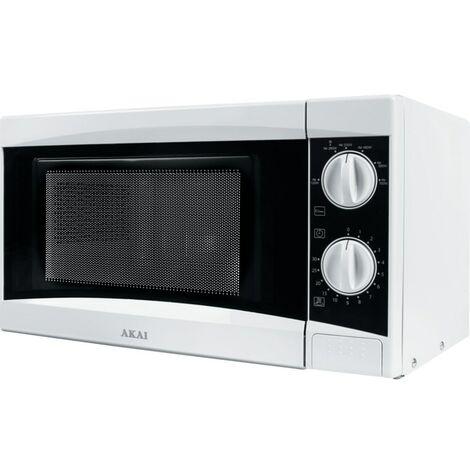 Akai 20LTR 800W Manual Microwave White