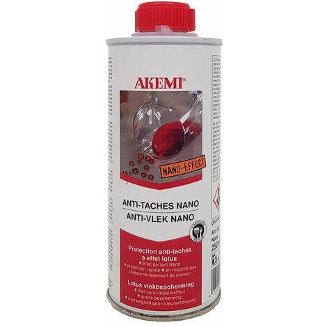 AKEMI Anti-tache à effet Nano 250 ML - Hydrofuge déperlant