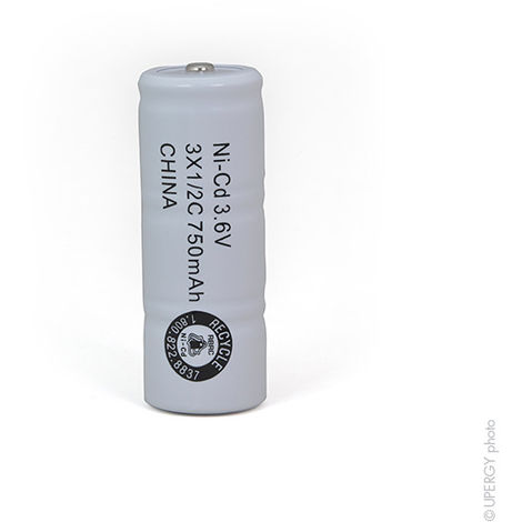 NX Batterie NiCd 10VTAA 2x5AA 12V 800mAh