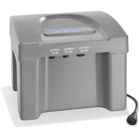 Akkubox 12V/24 Ah bis 100 Watt Solar Teich Pumpe Akku Batterie esotec 101810