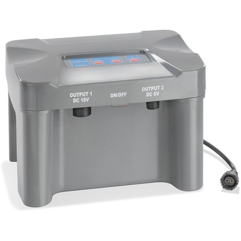 Akkubox 12V/7 Ah bis 50Watt Solar Teichpumpen Teich Akku Batterie esotec 101816