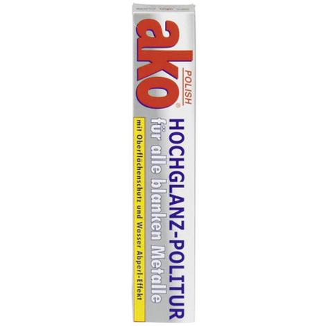 AKO polish Metallpflege 100ml Metallpflegepaste Hochglanz Politur