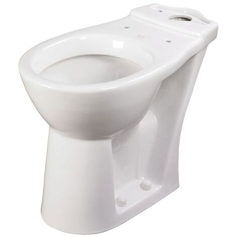 AKW 460S Raised Height Close Coupled Toilet WC Pan 650mm Projection