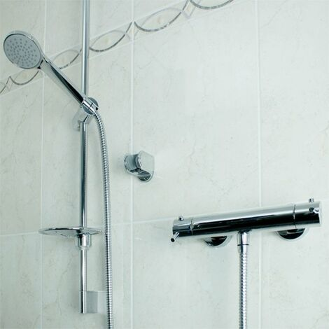 AKW Arka TMV2 Cool Touch Bar Mixer Shower with Shower Kit