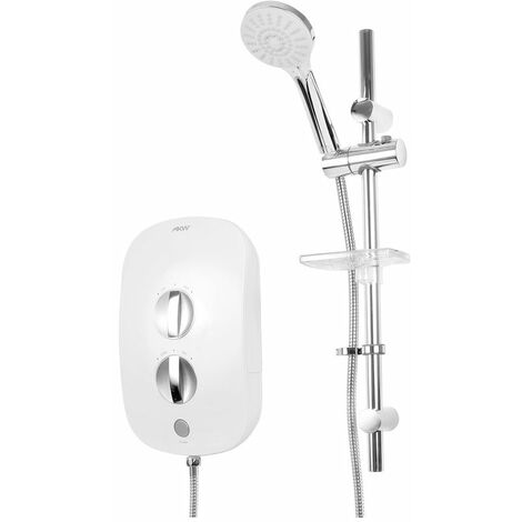 AKW iTherm Thermostatic Electric Shower, Standard Kit, 9.5kW
