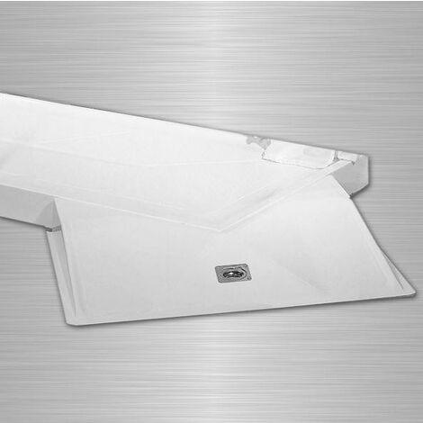 AKW - kit Rampe d'angle pour receveur de douche Sulby 770x630x90mm (Accessibilité PMR)