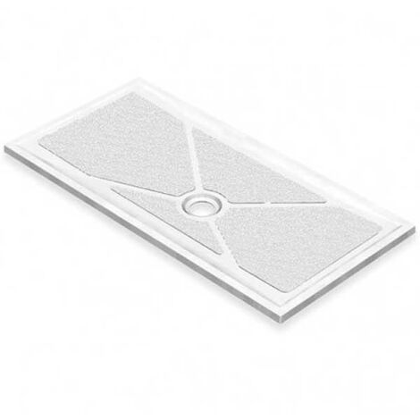 AKW Low Profile Rectangular Shower Tray, 1420mm x 820mm, Non-Handed