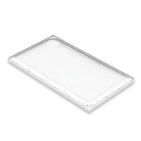 """main image of """"AKW Mullen Rectangular Shower Tray, 1300mm x 700mm, Left Handed"""""""