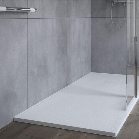 AKW Onyx Rectangular Shower Tray 1200mm x 800mm - White