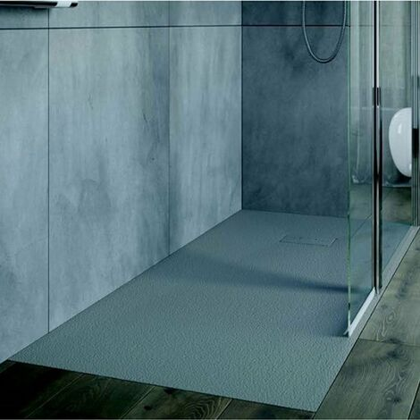 AKW Onyx Rectangular Shower Tray 1700mm x 900mm - Grey