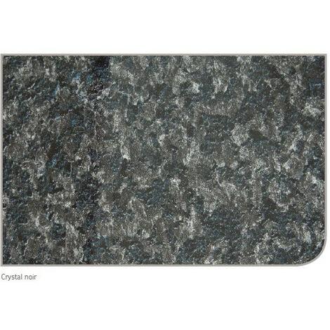 AKW - Panneau mural crystal noir 2420x1200mm