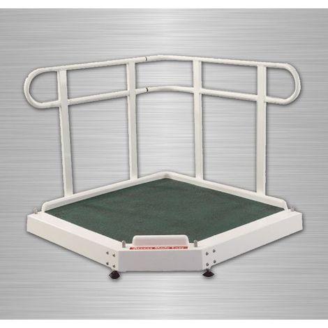 AKW - Plateforme réglable en hauteur jusqu'à 300mm (accessibilité PMR)