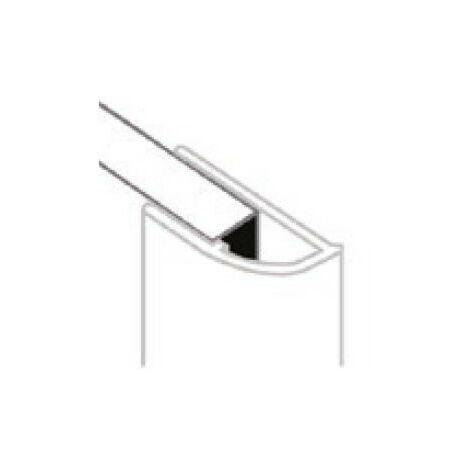AKW - Profilé de finition perle assorti en PVC