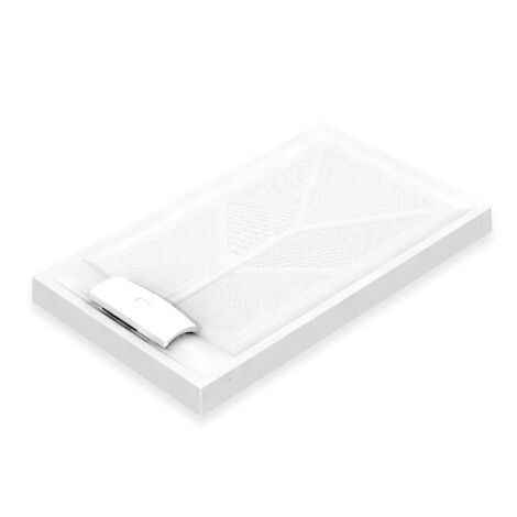 AKW Sulby Rectangular Shower Tray with Waste 1200mm x 700mm, Non-Handed
