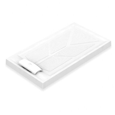 AKW Sulby Rectangular Shower Tray with Waste 1300mm x 700mm x 110mm, Non-Handed