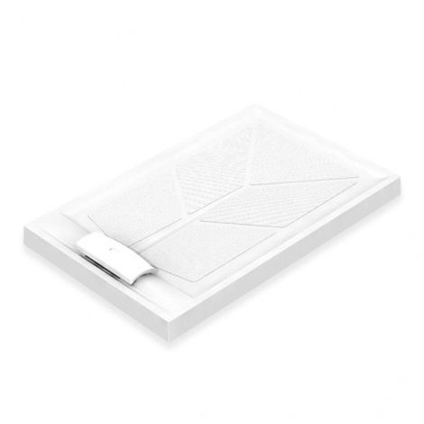AKW Sulby Rectangular Shower Tray with Waste 1300mm x 820mm, Non-Handed