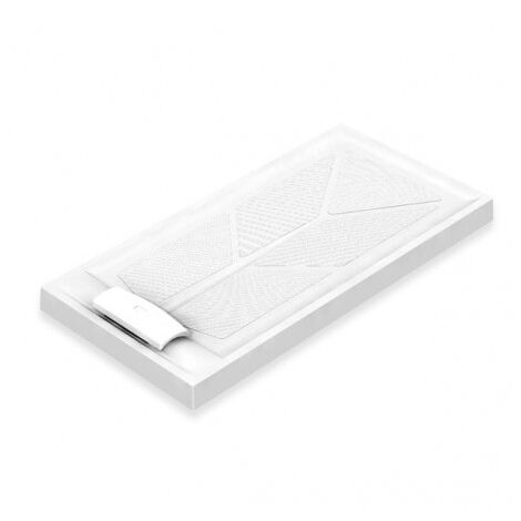 AKW Sulby Rectangular Shower Tray with Waste 1420mm x 700mm x 110mm, Non-Handed