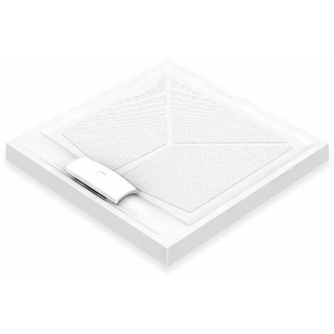 AKW Sulby Square Shower Tray with Waste 1000mm x 1000mm, Non-Handed