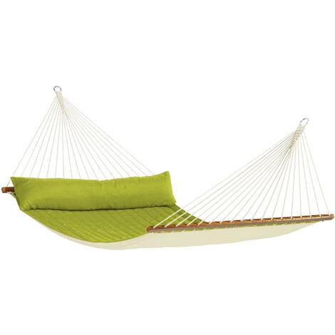 Alabama Avocado - Hamac à barres kingsize rembourré - Vert