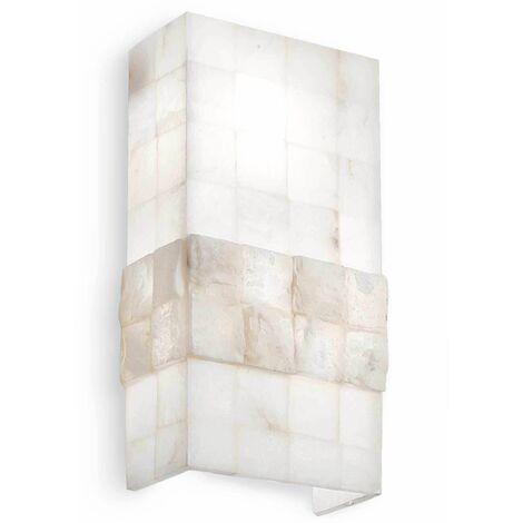 Alabastre STONES wall light 2 bulbs