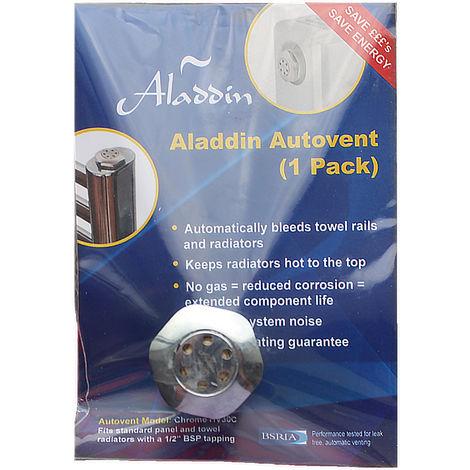 Aladdin Autovents Fully Automatic Radiator De-Aeration Valve (Replaceable Cartridge)