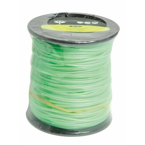 Alambre de nylon Evergreen de sección redonda ø 5 mm - 58 mt