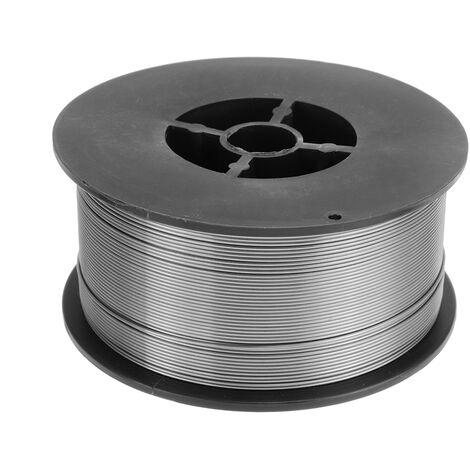 Alambre de soldadura con núcleo de fundente de bobina de 0.9MM sin gas MIG 1KG