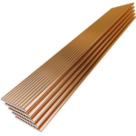 Alambre de soldadura solido 70S-6, 1.6 mm * 330 mm, 50 piezas
