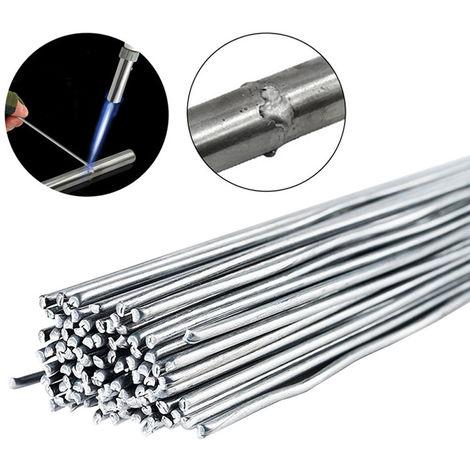 Alambre de soldar nucleo de alambre de aluminio de baja temperatura, 2.0 mm, 10 raices