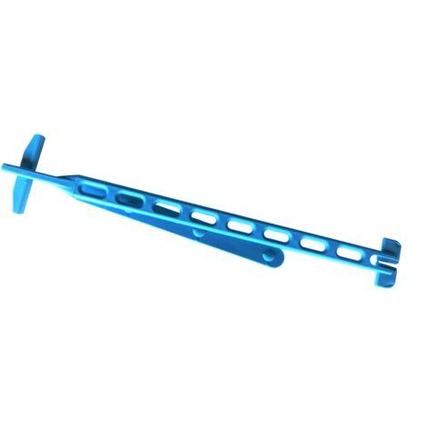 "main image of ""Alambre de sujeción azul para lonas - Bolsa de 50 unidades Azul de 12,7 x 230mm"""