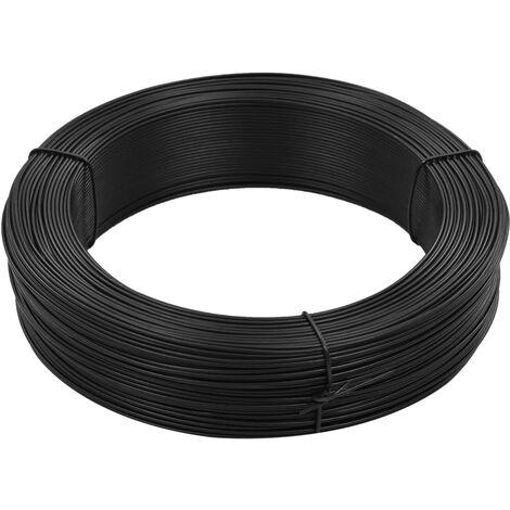 Alambre para atar vallas acero gris antracita 250 m 1,4/2 mm