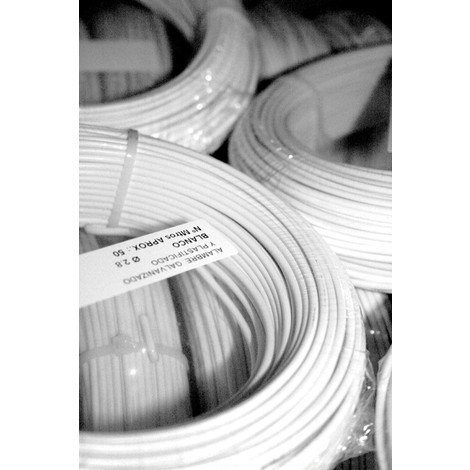 Alambre Plastificado 2.8Mm 50 M - SIESA - Blanco 39072
